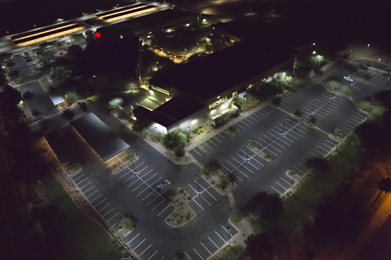 Corporate Office Parking Area, Atlanta, GA